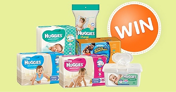 Win a 6 Month Supply of Huggies Products