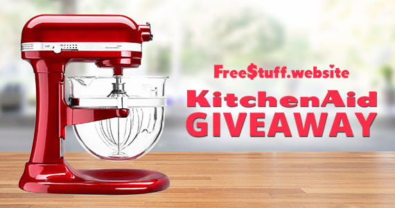 Win A KitchenAid Stand Mixer And More As A Member