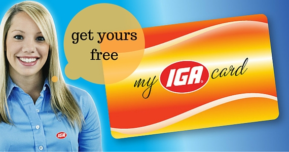 Get Excusive Email Offers from IGA
