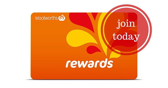Get Woolworths Rewards