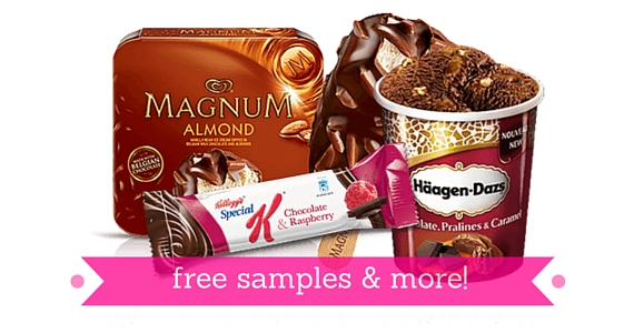 Sign Up for Free Samples and More