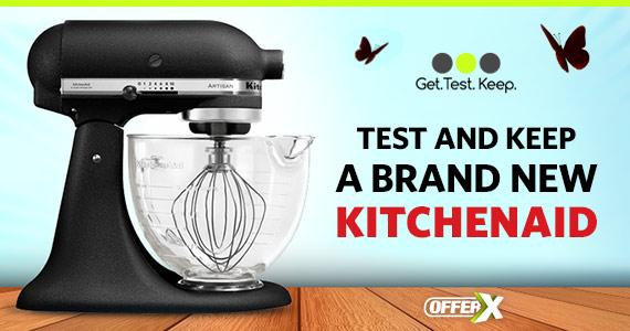 Test & Keep a KitchenAid Mixer