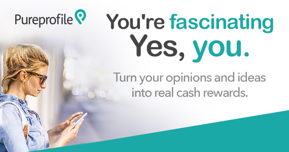 Earn Cash Rewards with Pureprofile