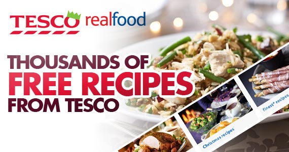 Thousands Of Free Recipes From Tesco