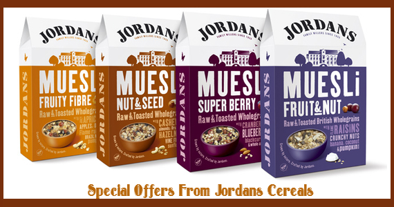 Special Offers From Jordans Cereals