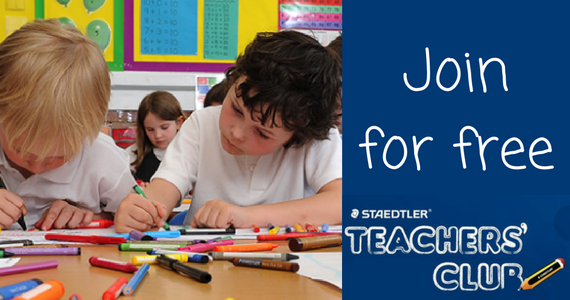 Join the Staedtler Teachers' Club