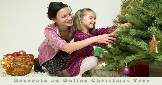 Decorate Your Online Christmas Tree