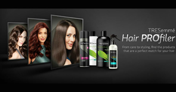 Free TRESemmé Hair Profiler