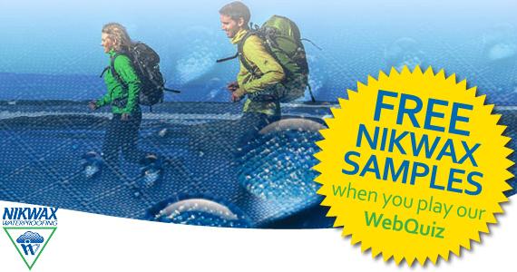 Free Nikwax Tech Wash Sample