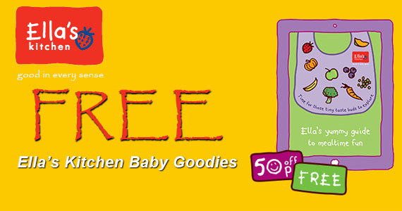 Free Ella's Kitchen Baby Goodies