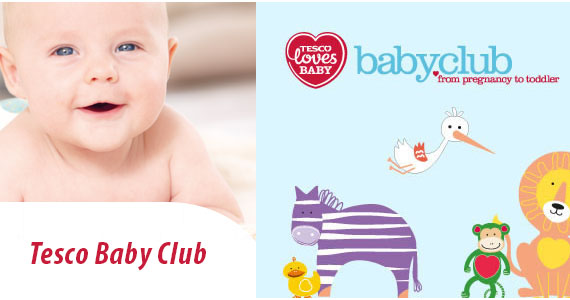 Join Tesco's Baby Club & Win a Year's Supply of Nappies