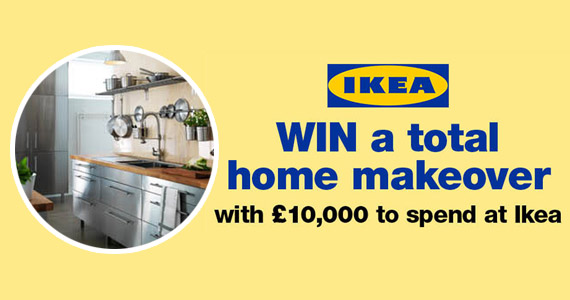Win a £10,000 IKEA Home Makeover