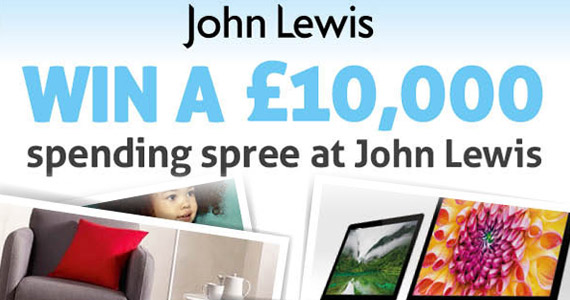 Win A £10,000 Spending Spree At John Lewis