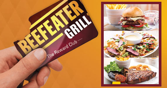Free Birthday Meals at Beefeater Grill