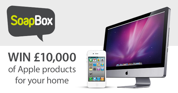 Win £10,000 of Apple Products