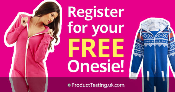 Sign Up For A Free Onesie