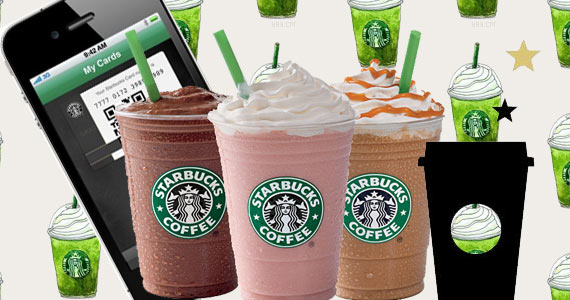 Collect Rewards from Starbucks