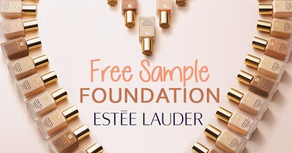 Free Sample of Estee Lauder Foundation