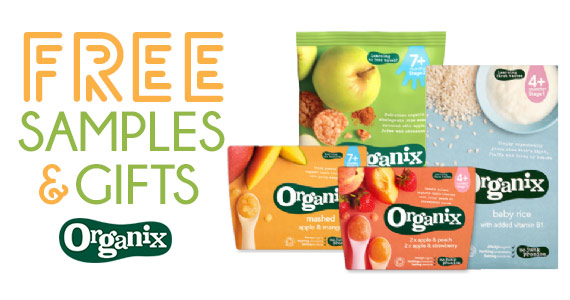 Free Samples & Gifts from Organix