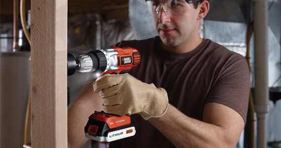 Register with Black + Decker and Win £1000