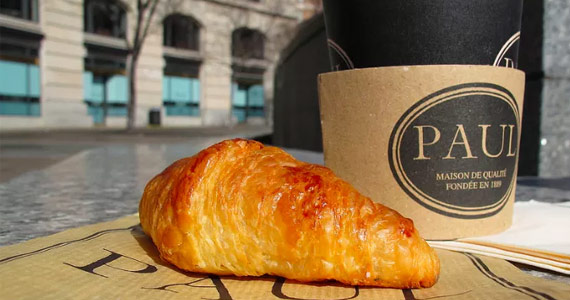 Free Coffee & Croissant with Paul Rewards