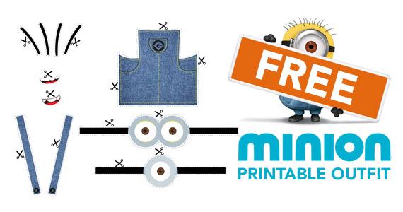 Free Printable Minion Outfit