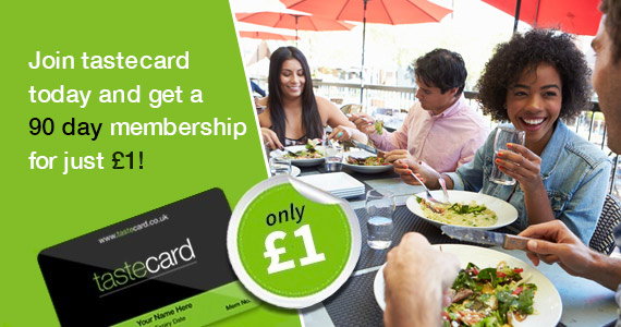 Join Tastecard & Get 50% Off at Restaurants