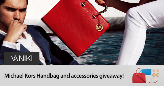 Win a Michael Kors Handbag & Accessories
