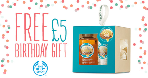 Free £5 Gift from The Body Shop