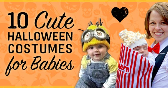 10 Cute Halloween Costumes for Babies