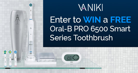 Win an Oral-B Pro Smart Series Toothbrush
