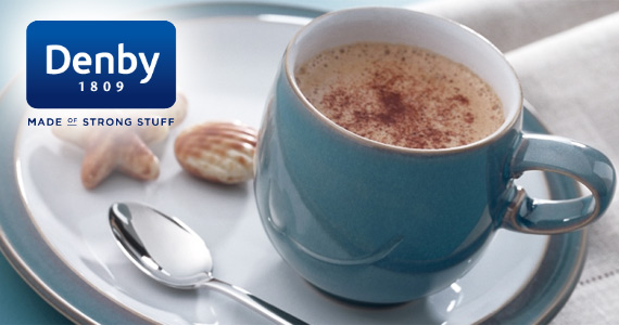 2 Free Denby Mugs to Give Away Each Week