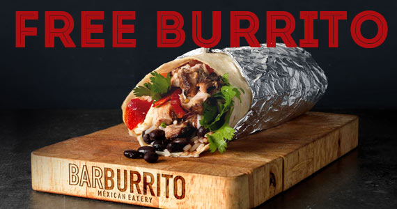 Free Burrito from Barburrito