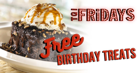 Free Birthday Treats from TGI Fridays