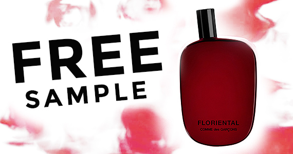 Free Sample of Comme des Garcons Floriental