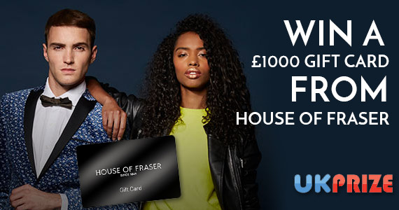 Win a £1000 Shopping Spree with House of Fraser