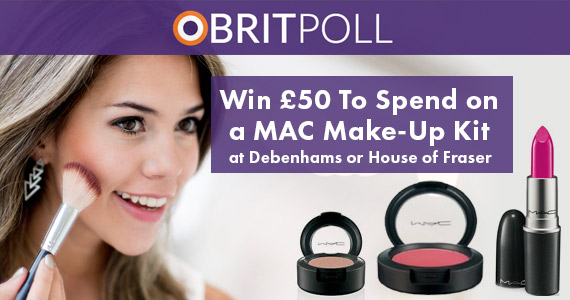 Win £50 Worth of MAC Make-Up