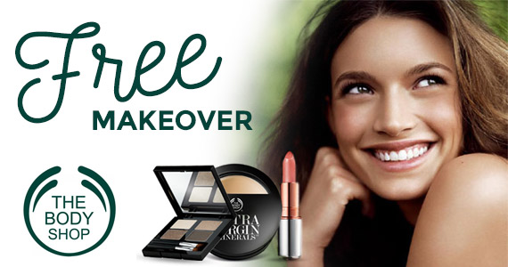Free Makeover & Skin Consult at The Body Shop