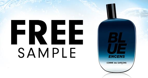 Free Sample of Comme des Garcons Blue Encens