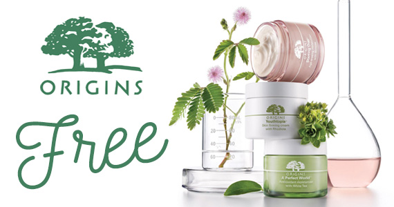 Free Sample of Origins Skincare