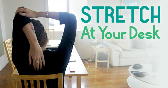Stretches You Can Do at Your Desk that Aren't Weird