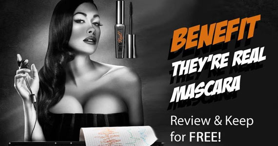 Get a Benefit Mascara for Free