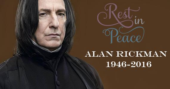 RIP Alan Rickman 1946-2016