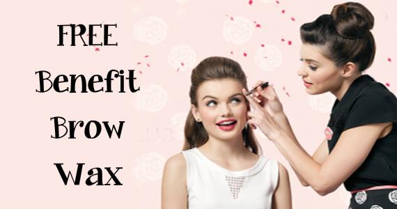 Free Benefit Brow Wax from Debenhams