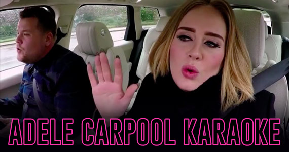 Everyone Has to See Adele's Carpool Karaoke