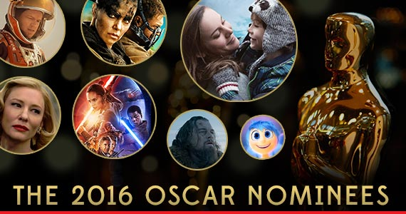 See the 2016 Oscar Nominees!