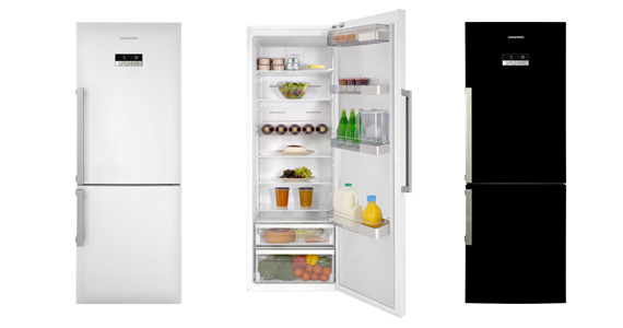 Win 1 of 9 Grundig Fridge-Freezers Worth £599