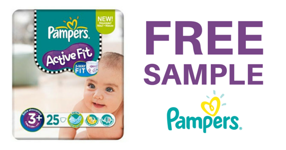 Free Sample of Pampers Active Fit Nappies