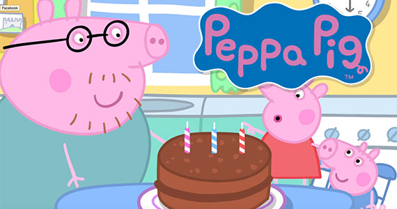 You Need to See This: Peppa Pig Bakes a Cake