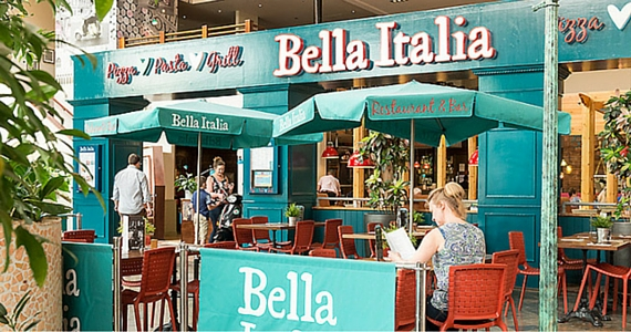 Get Free Food on Your Birthday with Bella Italia